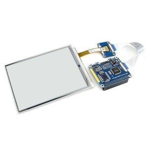 Image 3 - Waveshare 6 inç e mürekkep ekran HAT ahududu Pi 800*600 çözünürlük e kağıt IT8951 denetleyici USB/SPI/I80/I2C arayüzü