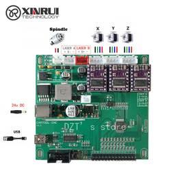 GRBL гравировальный станок с ЧПУ, 3 оси управления, лазерная гравировка машина доска USB порт
