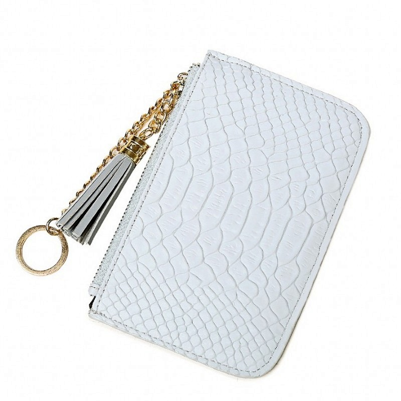 Slim Coin Purse women purse wallet Card Holder Zipper Key Ring women bag Pink Cash card package student girl purse money bags