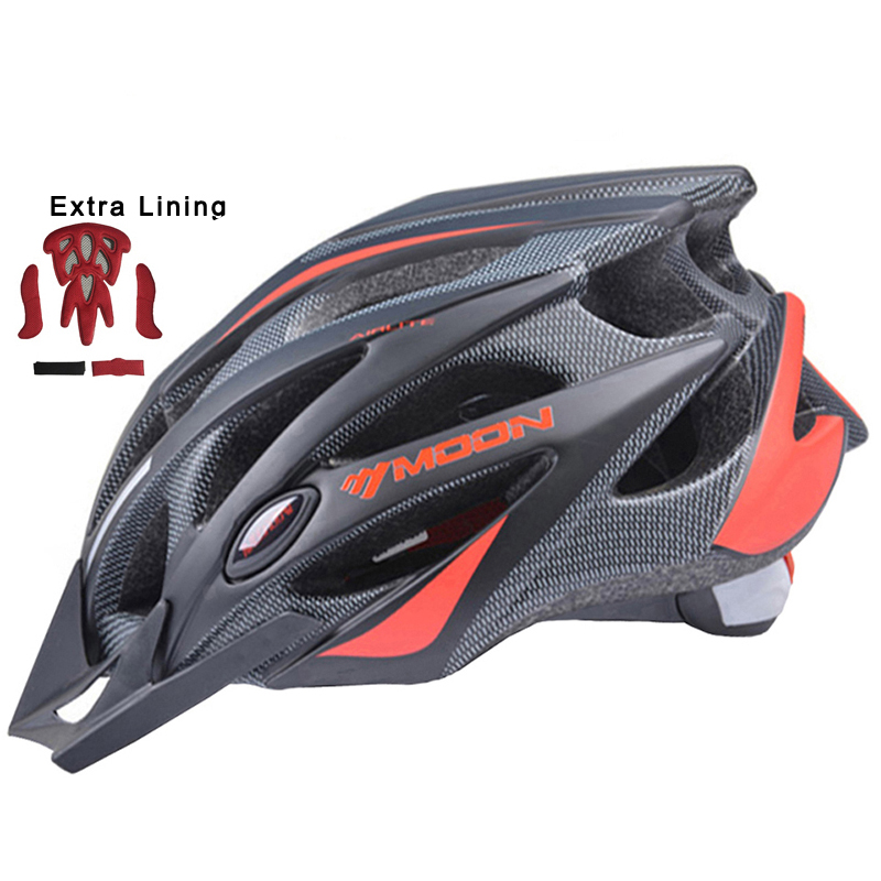 MOON Upgrade Cycling Helmet Road Mountain MTB Bike Bicycle Helmet With Insect-net 52-64CM Casco Ciclismo moon upgrade cycling helmet road mountain mtb bike bicycle helmet with insect net 52 64cm casco ciclismo