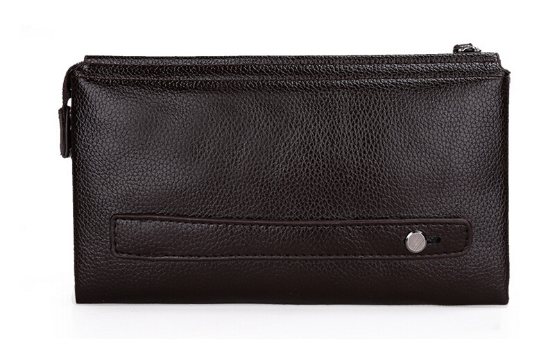 6f141a6bf5 2016 New Designers POLO Brand Leather Purses and handbags High quality  Business Casual men clutch bag Wallet for men A103 on Aliexpress.com