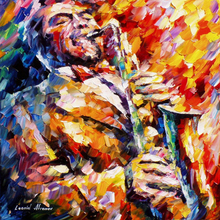 Hand Painted Landscape Abstract Modern Musicians Palette Knife Modern Oil Painting Canvas Art Living Room hallway Artwork Fine