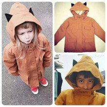 Emile Et Ida Baby Boy Cat Coats And Jackets Kids Clothes Baby Girl Winter Jacket Child Lambs Wool Coat Age 1-5Years Cicishop