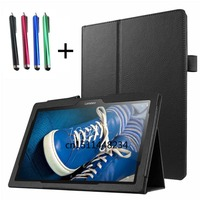Fashion Magnet Stand Case For Lenovo Tab 2 A10 30 10 Inch PU Leather Slim Fit