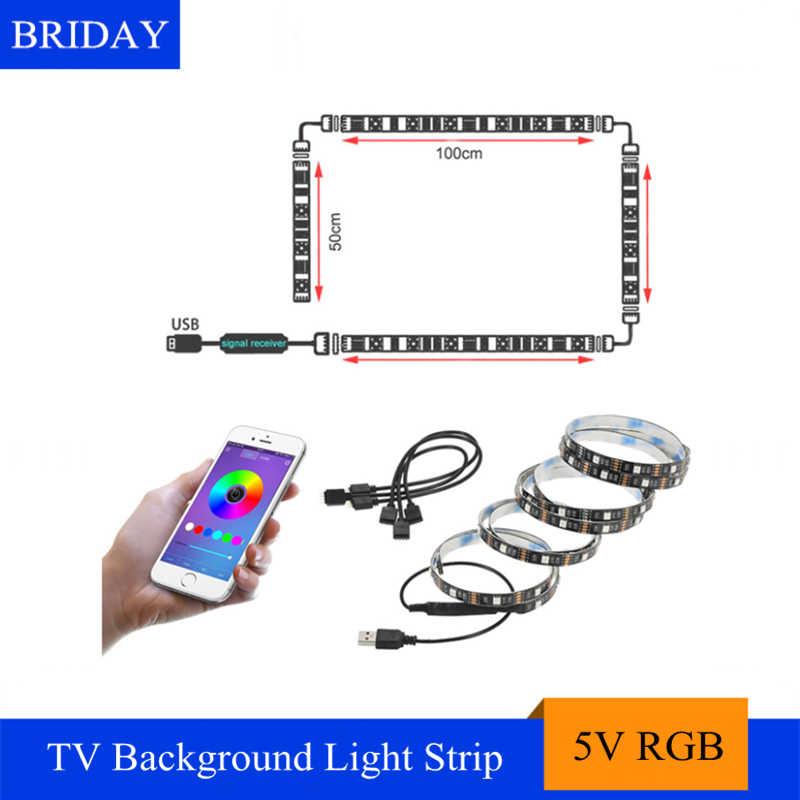 DC5V SMD5050 RGB Светодиодные ленты света IP65 Водонепроницаемый 30 светодиодный/m Гибкая