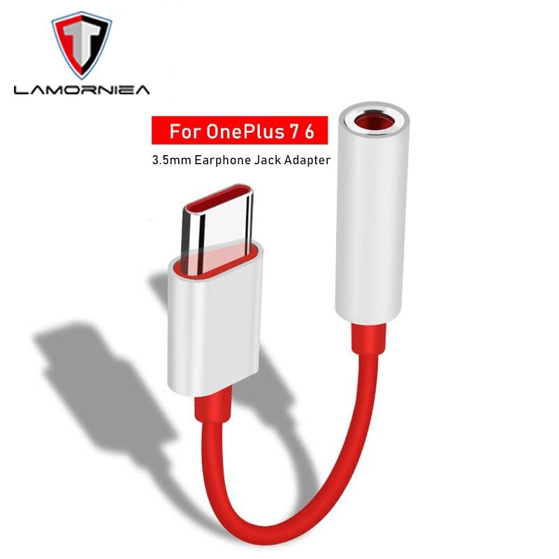 Для Oneplus 7 Pro 6T USB Type C до 3,5 мм разъем для наушников адаптер Aux аудио для One Plus 7 Pro 1 + 6T USB C кабель для музыкального конвертера