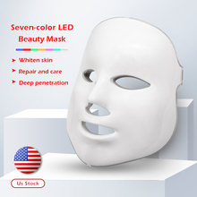 7 colors Led Therapy Mask Light Face Mask Therapy Photon Led Facial Mask Korean Skin Care Led Mask Therapy Beauty Spa