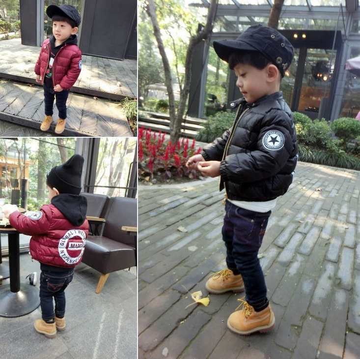 New fashion little boy 1-5 years winter bread jacket thick coat - Children's Clothing - Photo 2