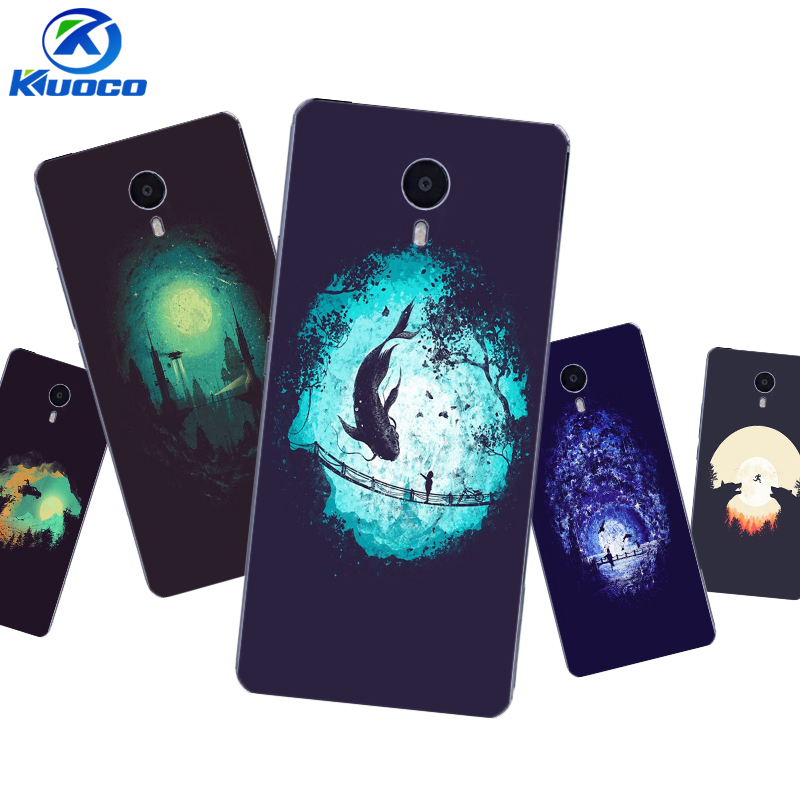Custom DIY Phone Case for Meizu U10 Shell for Meizu MX6 Pro Coque for Meizu M3 MAX Cover for M3X Soft TPU Dark World Printing