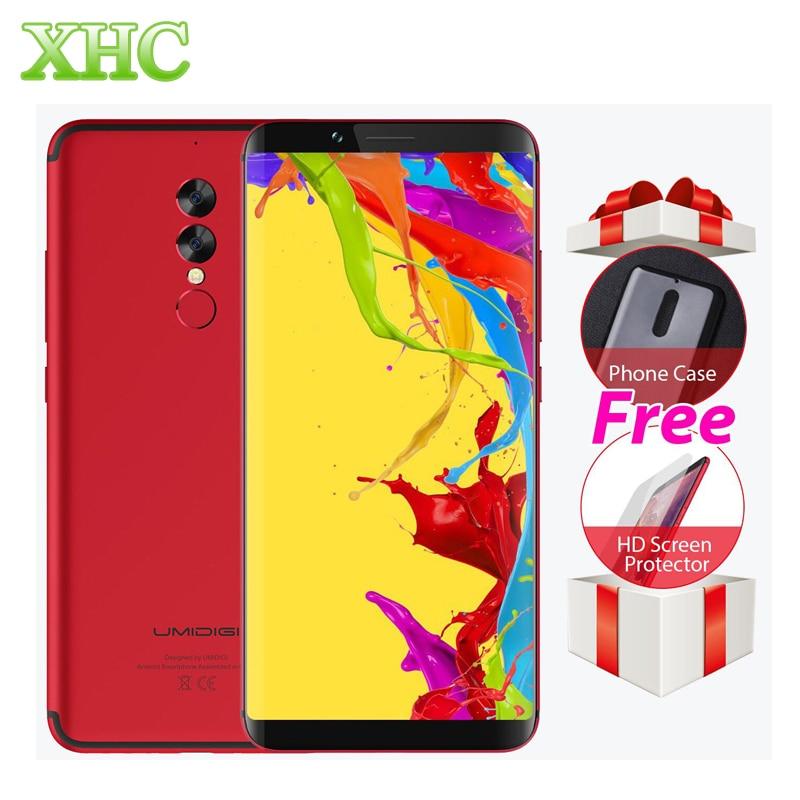 UMIDIGI S2 Lite 6.0 ''Tela 18:9 Smartphones 5100 mAh 4 GB + 32 GB Octa núcleo 16MP + 5MP Android 7.0 4G LTE Dual SIM OTG Móvel telefones