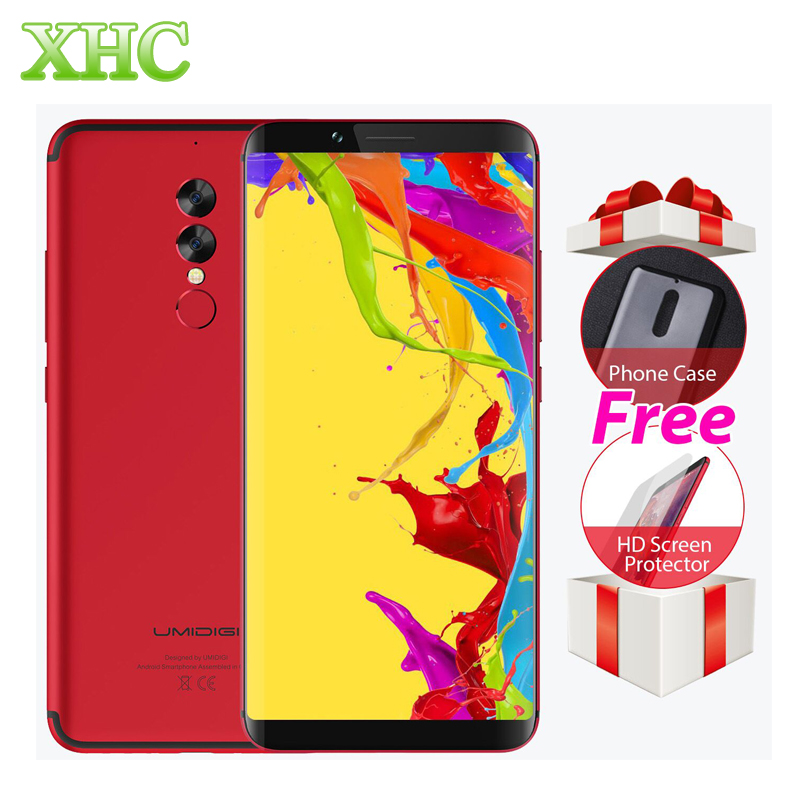 Umidigi S2 Lite 6.0 ''18:9 Дисплей смартфонов 5100 мАч 4 ГБ + 32 ГБ Восьмиядерный 16MP + 5MP android 7.0 4 г LTE OTG Dual SIM Мобильные телефоны