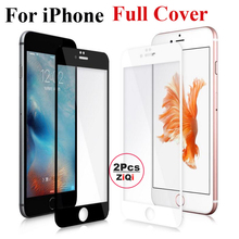 2Pcs 0.26mm Full Screen Protection Tempered Glass For Apple iPhone7 plus Screen Protector Glass Film On For iPhone 7 Plus