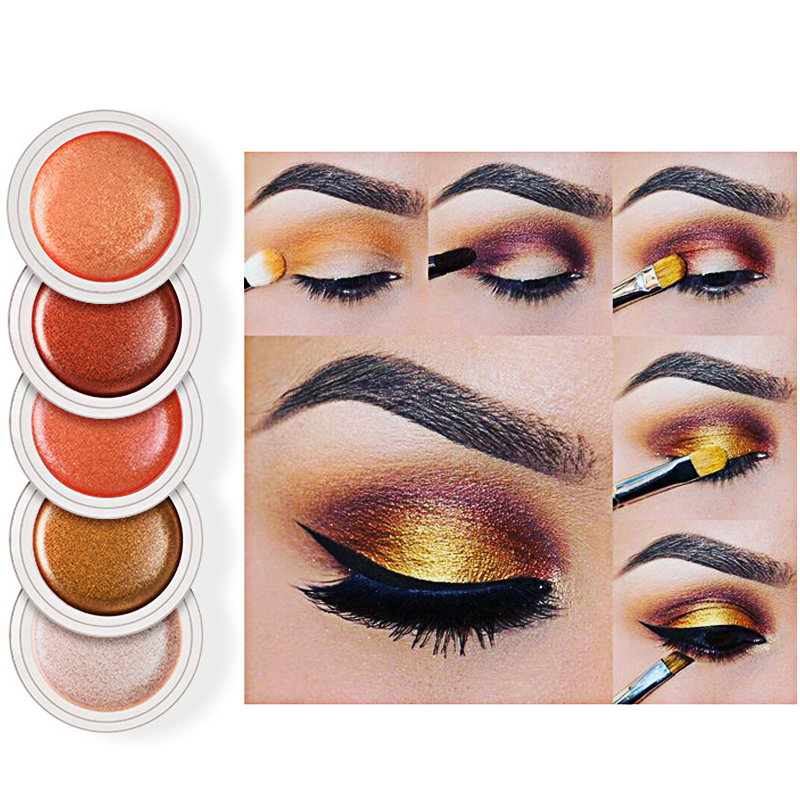Beauty & Health Bright Professional New Fashion Shimmer Shine Eyeshadow Brand Make Up Smoky Black Blue Dark Red Glitter Eye Shadow Makeup Palette Quality First