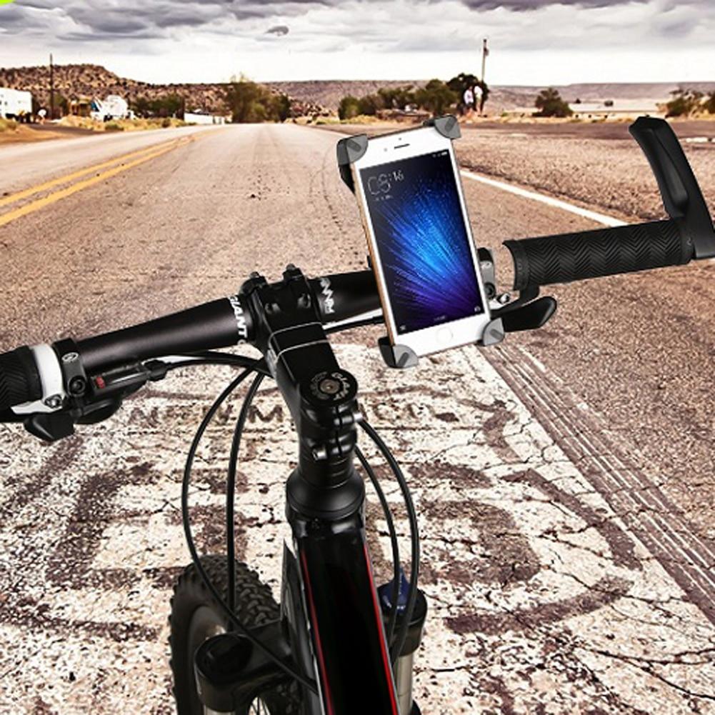 Univerzális 360 forgó kerékpár telefontartó kerékpár kormánykerekes klipsz tartó tartó iPhone X 8 7hez