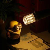 ICOCO 10pcs Durable Warm White E14 LED 5W 4014 SMD Cover Corn Light Lamp Bulb