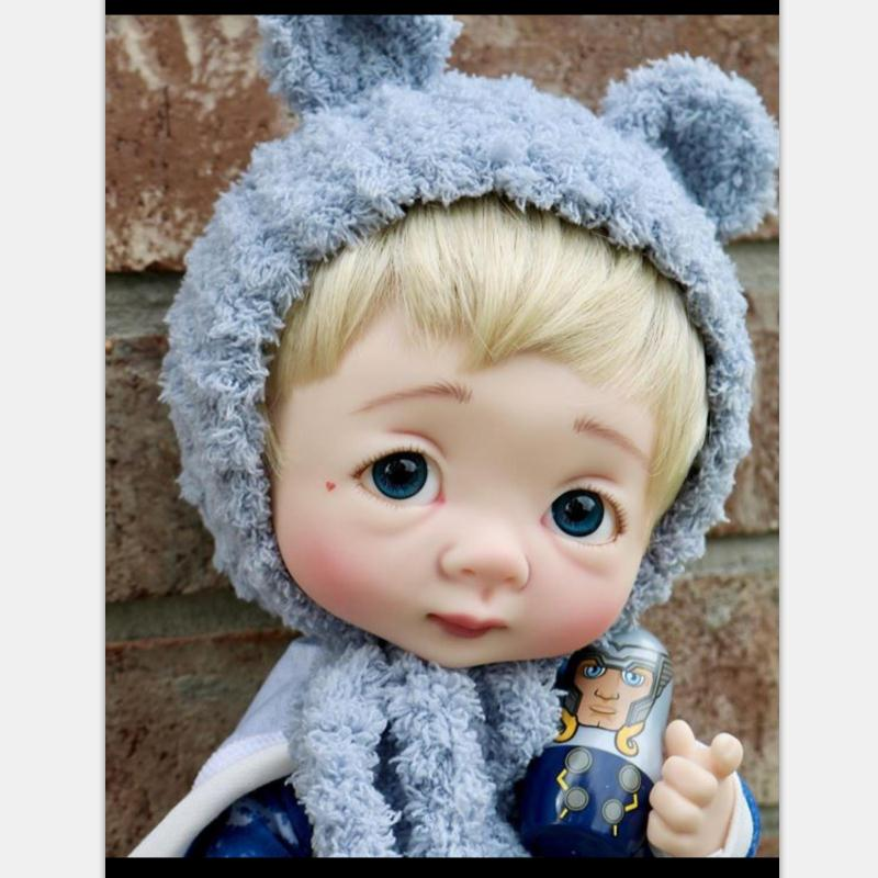 Dollbom Ollien 1/8 BJD Doll With Secretdoll Unisex Body Resin Figure YoSD Baby Toys