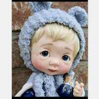 Dollbom Ollien 1/8 BJD Pop Met Secretdoll Unisex Body Hars Figuur YoSD Baby Speelgoed