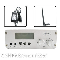 Fmuser ST-05C 0,1 Вт 0,5 Вт домашний fm-передатчик стерео PLL Радио вещания