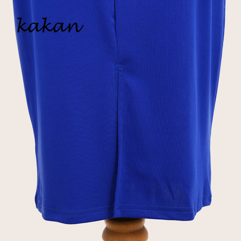 Kakan sexy perspective ruffled sleeves dress summer new women 39 s tight fitting hip dress without belt XL dress XL 6XL in Dresses from Women 39 s Clothing