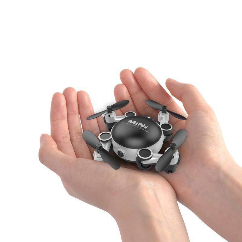 Mini Drone Com Câmera Hd Gps Drones Fpv Rc Helicóptero Com Câmera de Corrida Rc Zangão Profissional Selfie Brushless Micro Dobrável