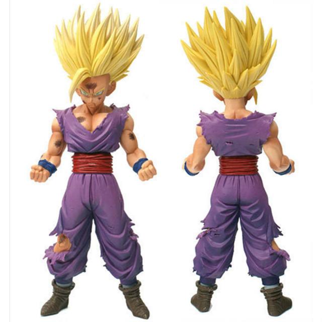 20 cm Anime Dragon Ball Z Super Saiyan Son Gohan Dragonball Figuras de Ação Mestre Estrelas Pedaço Estatueta Colecionável Modelo de Brinquedo