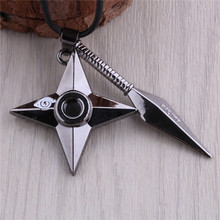 Naruto Dagger Necklaces With Leather Chain