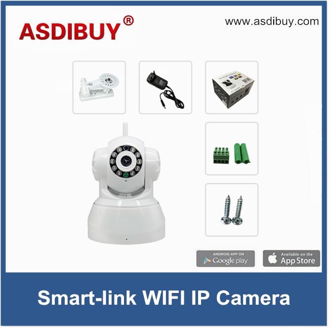 ASDIBUY HD Wireless IP Camera IR-Cut Night Vision Audio Recording Network CCTV Onvif Indoor IP surveillance camera