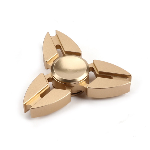 TAIHONGYU EDC Ball Ultimate Spin Hand Spinner Fidget Hand Focus Toy Bearing Stress Black Silver Golden Autism Gift Toys