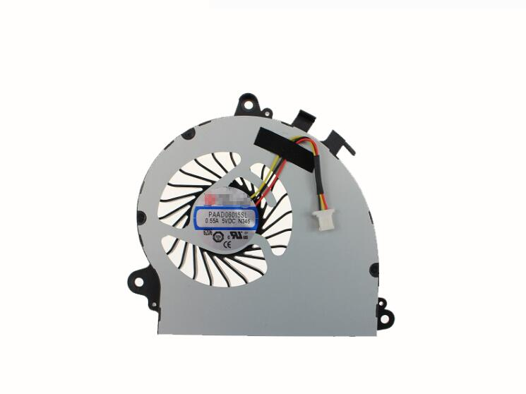 New For <font><b>MSI</b></font> GS70 <font><b>GS72</b></font> For AAVID PAAD06015SL 0.55A 5VDC N346 3Pin 3Wire CPU Cooling Fan image
