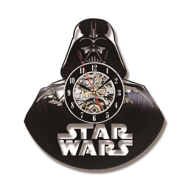 Star Wars Themed Wall Clock (10 Design)