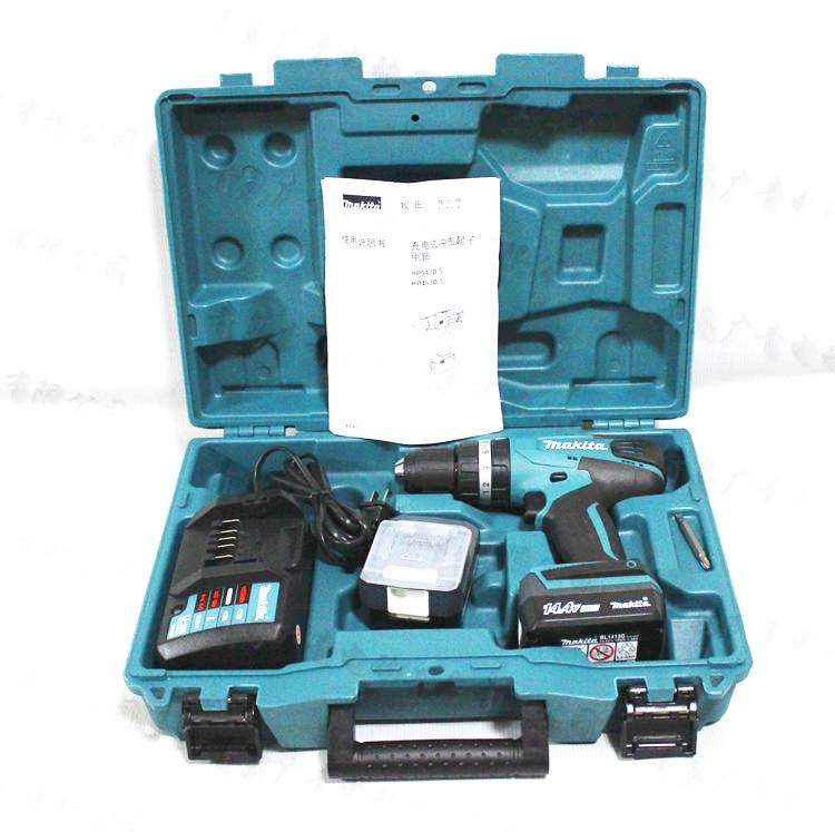 Jaapanis Makita laetav puur DF347DWE löökpuur HP347DWE 14,4 V - Elektritööriistade tarvikud - Foto 4