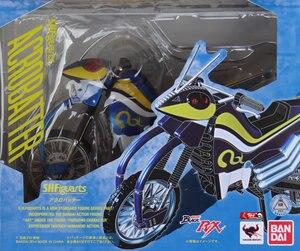 """Image 2 - Japan Kamen """"Masked Rider Black RX"""" Original BANDAI Tamashii Nations SHF/ S.H.Figuarts Action Figure Bike   Acrobatter Ver.2.0"""