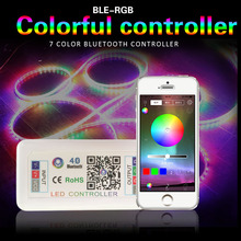 LED Controller For Led Strip 5050 RGB Controller 4 Pin DC 12V 24V Bluetooth RGB Controller Music Remote Control For Led Lighting 2 4g 4 groups remote control mi light led wifi controller 4x led rgb controller