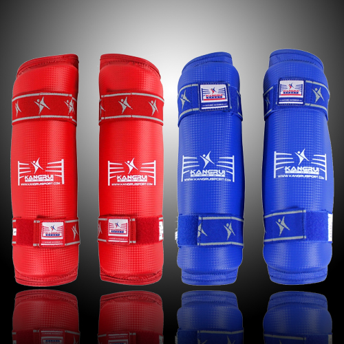 Taekwondo Arm Shin Guard MMA Muay Thai Kick Boxing Sanda Karate Leg Shin Protector Adult Kids Forearm Shank Protector Equipment