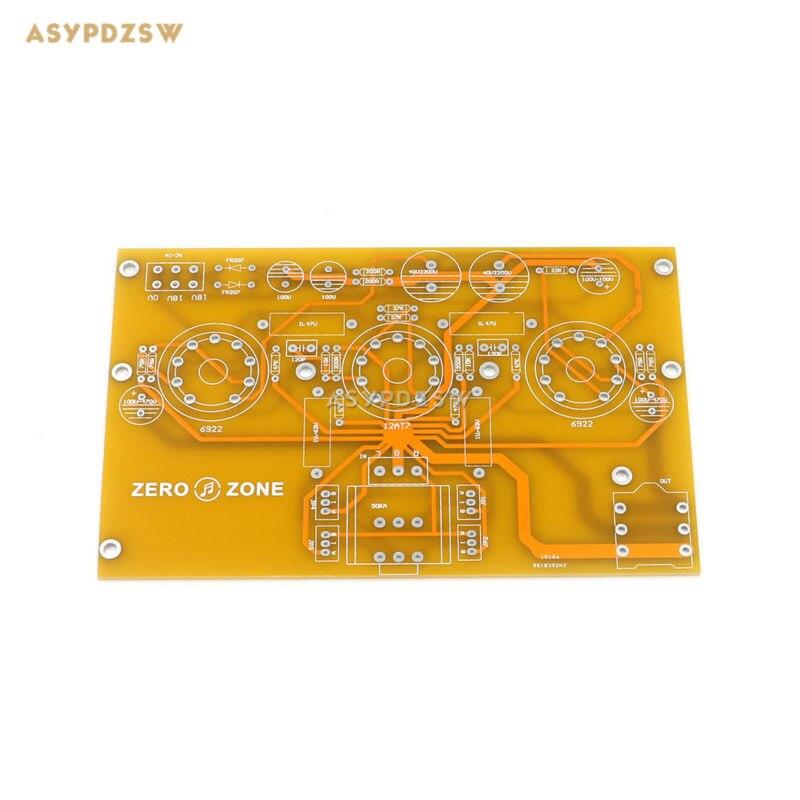 TU1-EMP V2 6922+12AT7 Tube headphone power amplifier DIY bare PCB