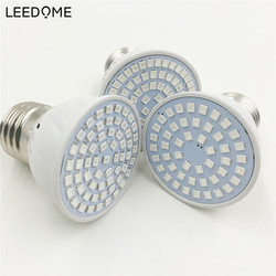 Leedome светодиодный Фито лампы полный спектр светодиодный свет 48 60 80 светодиодный s 2835 Чип светодиодный Fitolampy свет для теплицы гидропоники рас...