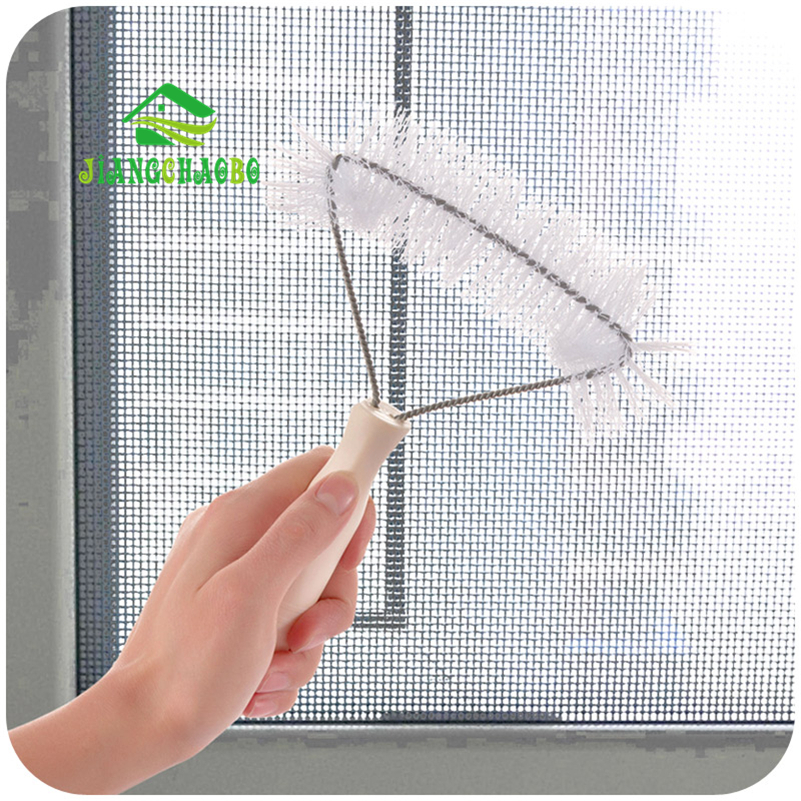 Recess Groove Cleaning Brush Crevice With Dustpan Tool Wash Screens Keyboard Kitchen Accessories