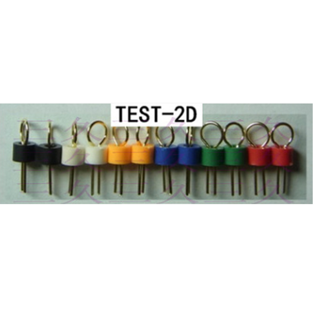TEST 2D Test point PCB board test point Gold plated ceramic test ring white red black