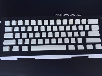 Cherry MX Keycaps Blank Black White 108 PBT Key caps OEM Profile For MX  Switches