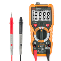 Digital Multimeter New Multimetro Voltage Current Resistance Tester Capacitance Frequency Temperature hFE NCV diagnostic tool|digital multimeter|tester capacitance|multimeter digital -