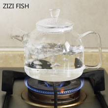 Teapot Glass-Kettle Heat-Resistant Fruit-Tea Tea-900ml Transparent High-Temperature Scented