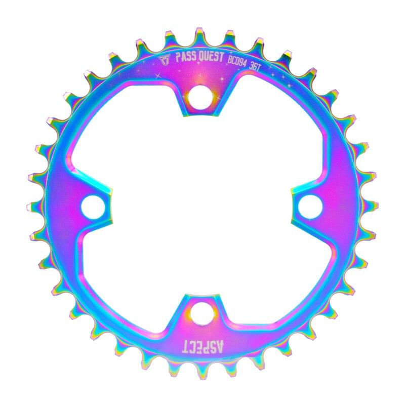 PASSER QUÊTE 94bcd titane plaqué positive et négative vitesse pédalier accessoires couleur X1 nx gx vtt pédalier