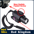Hunting Tactical Laser Sight 650nm Red Dot Laser Sight + 200LM CREE LED Flashlight For Glock 17 Shotgun Pistol Rifle