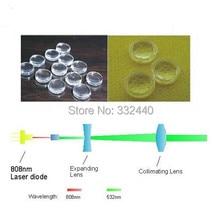 Профессиональный 808nm лазерный объектив 532nm лазерный диодный модуль фокус с покрытием стеклянные линзы