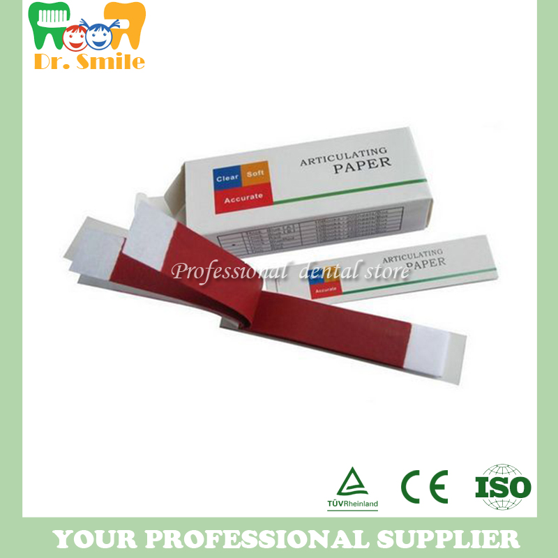US $13 02 7% OFF|Dental Articulating paper sample paper Branch materials  dental materials oral dental supplies-in Teeth Whitening from Beauty &  Health