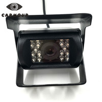 Bus HD CCD Car Rearview 7120T Camera Reverse Backup Camera Auto Parking 120 Degree 18 IR