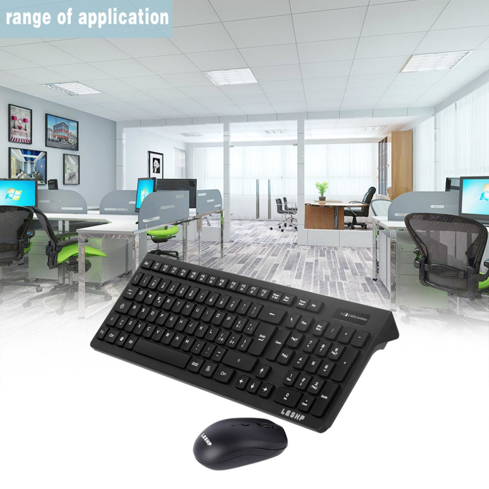 wireless keyboard optical mouse combo set kit with usb receiver gaming mouse keyboard spanish. Black Bedroom Furniture Sets. Home Design Ideas