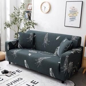 Image 3 - Parkshin Nordic Elastische Spandex Sofa Abdeckung Engen Wrap All inclusive Couch Abdeckungen für Wohnzimmer Schnitts Sofa Abdeckung