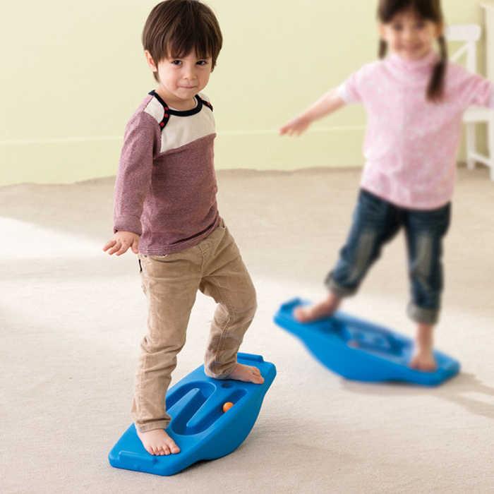 Тренировочное оборудование балансировочная плата детская рок seesaw Детская Спортивная игрушка