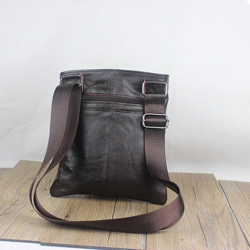 mva genuíno bolsa de couro Exterior : Nenhum